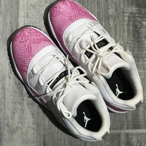 Air Jordan Retro 11 Snake Skins Girls Size 6Y